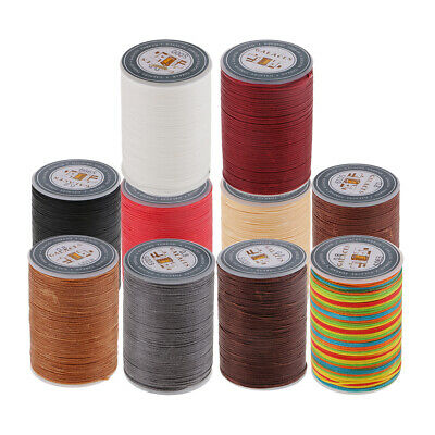 £3.36 • Buy Canvas Sewing Waxed Flat Thread For Leather Craft DIY, Polyester,Waxed Thread