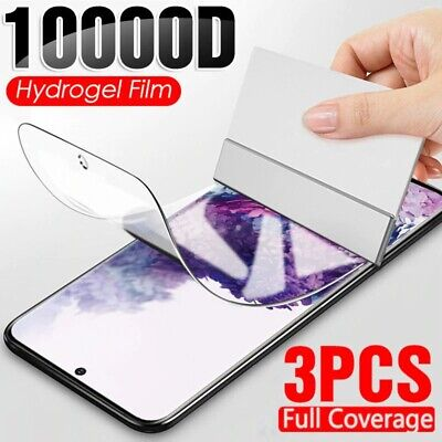 $ CDN6.47 • Buy 3Pcs Hydrogel Film Screen Protector For Samsung Galaxy S10 S9 S8 S20 Plus S10E