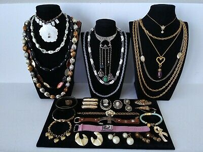 $ CDN20.29 • Buy Huge Vintage To Now Jewelry Lot Estate Find  All Wearable Pieces - SOME SIGNED