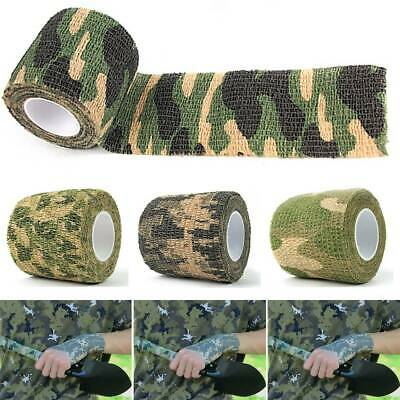 £2.49 • Buy Camo Stealth Webbing Tape Hunting Shooting Camouflage Gun Sniper Wrap Woodland