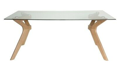 AU449 • Buy Murf Collection | Rectangular Glass Dining Table | 180cm