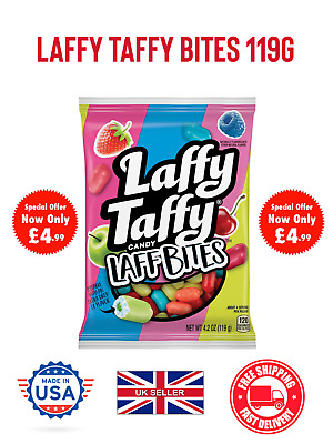 Laffy Taffy Minis Assorted American Candy USA Imported UK Seller 119g • 4.99£