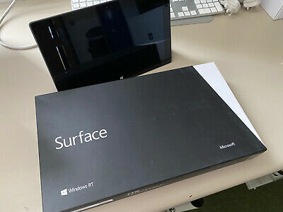 Microsoft Surface RT 32GB, Wi-Fi, 10.6in - Dark Titanium (with Black Touch • 60£