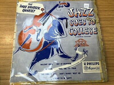 The Dave Brubeck Quartet ‎– Jazz Goes To College #RW #442 • 3.46£