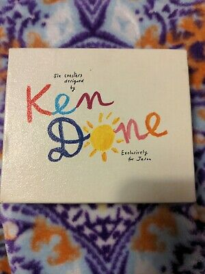 £16 • Buy Ken Done Designed 6 Coasters Exclusively For Jason New Zealand