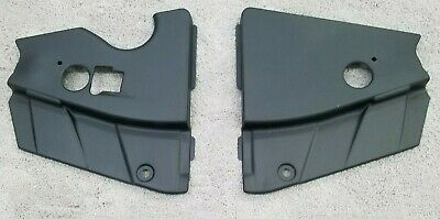 $34.90 • Buy Ford Mustang 05-09 Matte Black Radiator Extensions Match Stock Radiator Cover