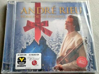Andre Rieu -home For The Holidays- Cd Factory Sealed - Christmas Music • 7.23£