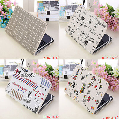 Notebook Laptop Sleeve Bags Cotton Pouch Case Cover For 14/15.6/15inch Laptop P5 • 5.45£
