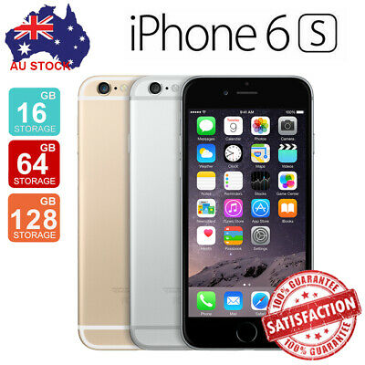 AU319.99 • Buy Sealed Apple IPhone 6s 16GB 64GB 128GB Unlocked A1688 Gray Rose Gold Silver