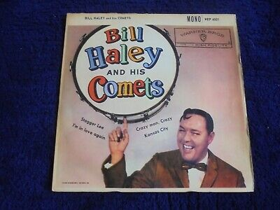 Bill Haley And His Comets - Same 1960 UK EP WARNER BROS • 4.19£