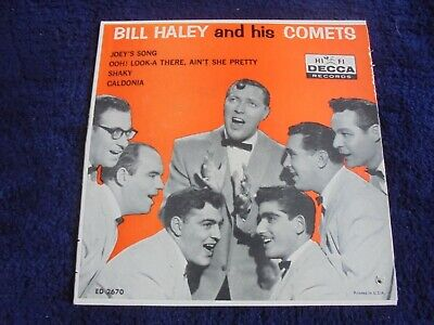 Bill Haley And His Comets - Same 1959 USA EP DECCA • 9£
