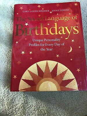 £15 • Buy The Secret Language Of Birthdays: Personology Profiles For Each Day Of The Year