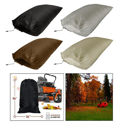 AU32.37 • Buy Lawn Tractor Leaf Bag Standard Leaf Bag Fast & Easy Leaf Collection Reusable