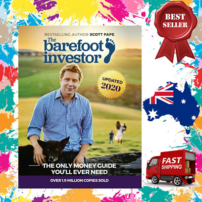 AU33.95 • Buy The Barefoot Investor Book By Scott Paper 2020 Update - Paperback