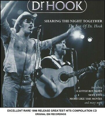 Dr Hook - The Very Best 20 Greatest Hits Collection CD - 70's Country Rock Pop • 4.29£