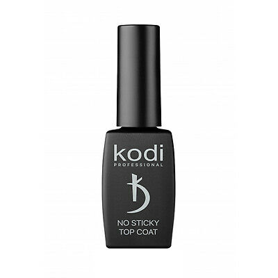Kodi Professional No Sticky Top Coat Nail Varnish Non-Wipe Wet Shine Gel 12ml • 14.99£