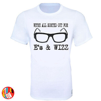 We're All Sorted Out For E's & Wizz - Pulp - Jarvis Cocker T-Shirt • 14.99£
