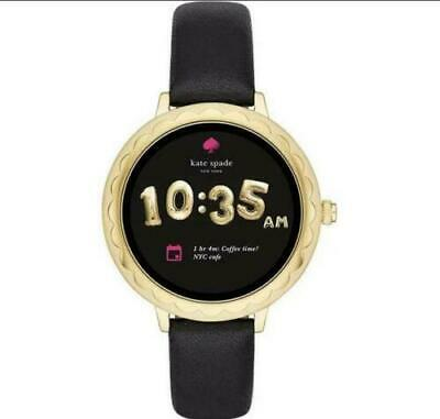 $ CDN85.15 • Buy Kate Spade New York Women's Scallop 2 SS Leather Touchscreen Smartwatch WR