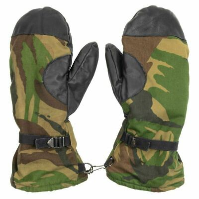 $21.95 • Buy Dutch Military Surplus Woodland Camo Lined Gloves/Mittens