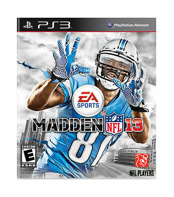 £5.23 • Buy Madden NFL 13 + Ultimate Team Pack (Sony PlayStation 3 PS3, 2012)