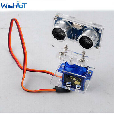 AU10.29 • Buy HC-SR04 Ultrasonic Module Distance Sensor Servo Kit For Arduino Microcontroller