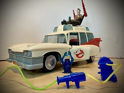 Vintage GHOSTBUSTERS ECTO 1 CAR With Figure/accessories • 28£