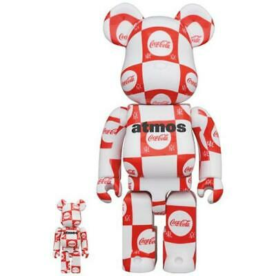 $299 • Buy MEDICOM TOY BE@RBRICK Atmos × Coca-Cola 400% 100% Set