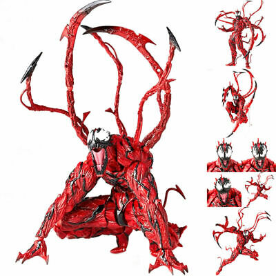 6  Yamaguchi Marvel Venom Carnage Red Spider-Man Action Figure Model Play Toys • 20.20£