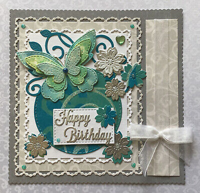 Handmade Card Topper - Happy Birthday • 1.35£