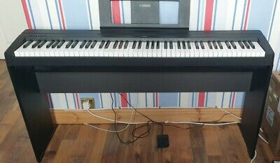 Piano Digital Yamaha P45 Black With L85 Matching Stand • 420£