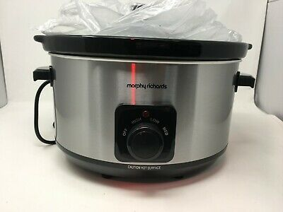 Morphy Richards 461013 6.5 Litre Ceramic Slow Cooker, One-Pot Solution #240 • 25.99£