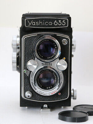 Yashica 635 TLR Camera, And Case • 195£