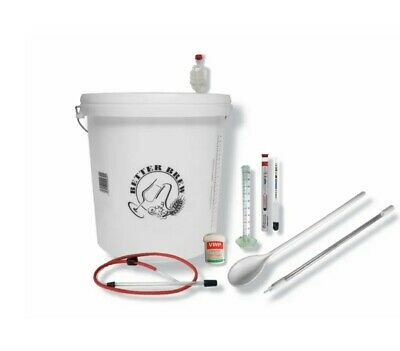 Home Brewing Starter Kit Set For 23L/40 Pints Home Brew Beer Cider Fermenting • 39.99£