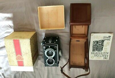 View Details Rollei Rolleicord Vb Type 1 Medium Format Twin Lens Reflex (TLR) Camera • 399.00£