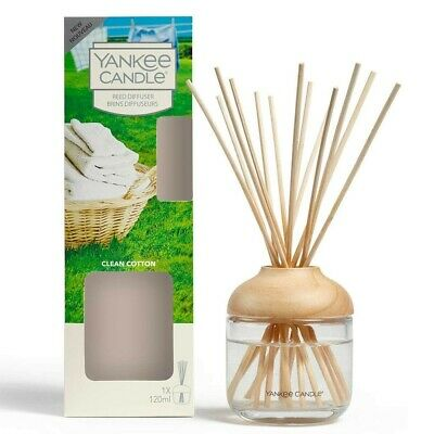 Yankee Candle Reed Diffuser Clean Cotton.. BARGAIN • 10£