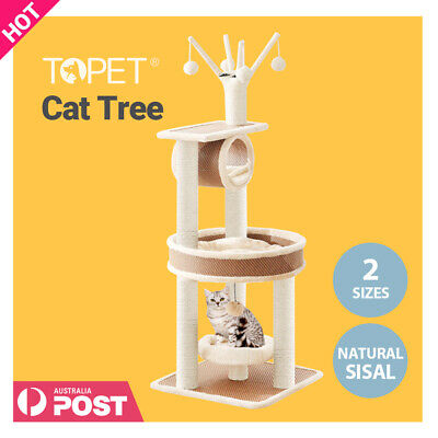 AU71.16 • Buy  TOPET 140cm Cat Tree Trees Scratching Post Scratcher Tower Condo House I.pet