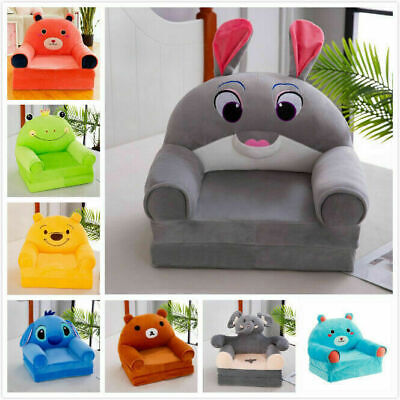 Childrens Kids Comfy Soft Foam Chair Toddlers Armchair Seat Bedroom Lounger Sofa • 36.88£