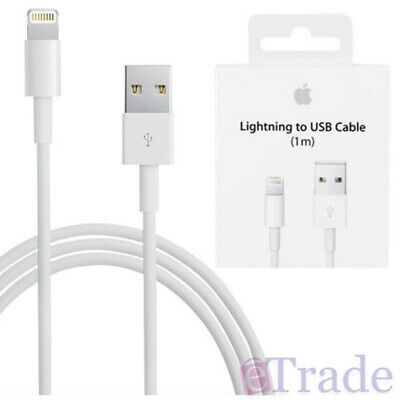 AU23.95 • Buy IPhone 12 / Pro / Max / Mini GENUINE Apple Lightning Data Sync Cable Charger 1m