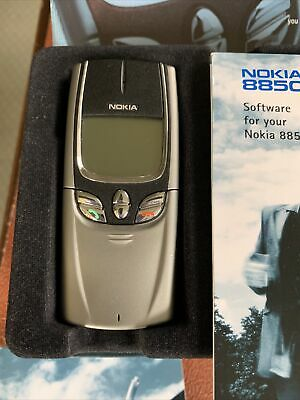 Nokia 8850 - Silver O2 Mobile Phone Works As It Should. • 80£