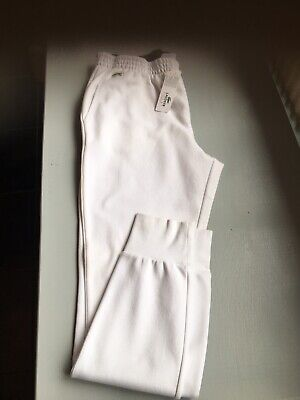Lacoste Tracksuit Bottoms White Size 5 • 35£