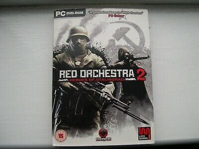 Red Orchestra 2 Heroes Of Stalingrad PC DVD ROM • 2.49£