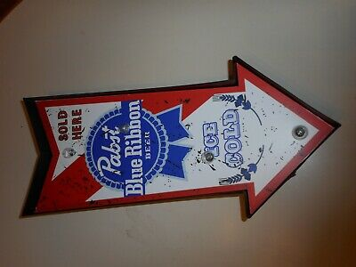 $ CDN52.29 • Buy Lighted Pabst Sign New Battery Operated