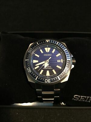 $ CDN325.85 • Buy Seiko Prospex Automatic Samurai Blue Dial Stainless Men's Diver Watch SRPC93