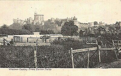 Postcard Windsor Castle From Clewer Fields  • 3.90£