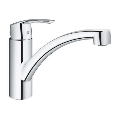Grohe 32441001 Start Single-lever Kitchen Sink Mixer Tap - Chrome - New • 69.91£