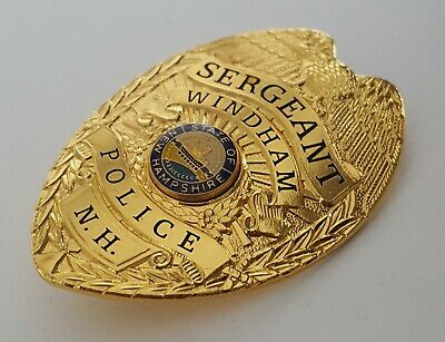 £18.99 • Buy Obsolate Historical Usa Police Badge ...Sergeant WINDHAM / New Hampshire
