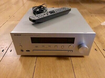 Yamaha CRX-N470D MusicCast Enabled CD Receiver & DAB Tuner. Used 3-4 Times Only. • 117£
