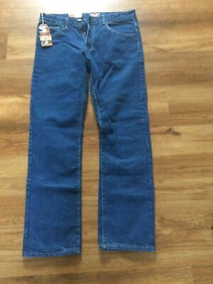 Lee Cooper Blue Denim Jeans Mens' Size W32 L32 Brand New • 4.50£