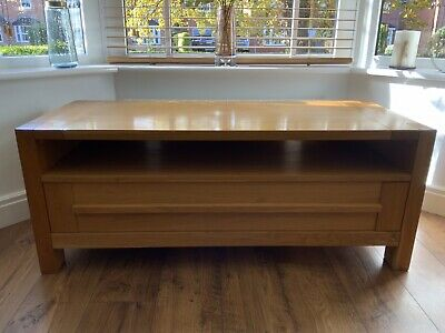 Marks And Spencer Large Sonoma Oak TV Table • 50£