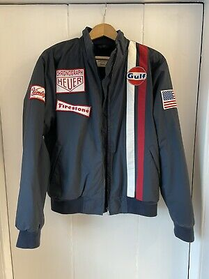 Vintage 55, Ltd Edition Steve McQueen Le Mans Gulf Racing Jacket • 80£